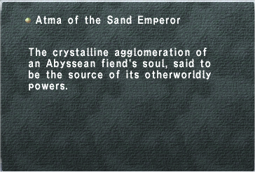 Atma of the Sand Emperor