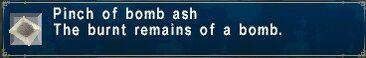 Bomb Ash