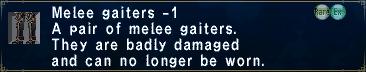 Melee Gaiters -1