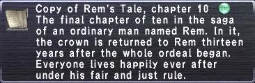 Rem's Tale, chapter 10