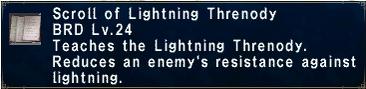 Lightning Threnody