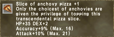 Anchovy Slice +1