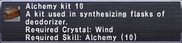 Alchemy Kit 10