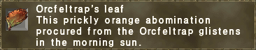 Orcfeltrap's Leaf