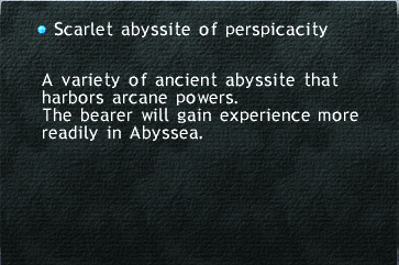 Scarlet Abyssite of Perspicacity
