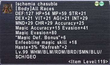 Ischemia Chasuble