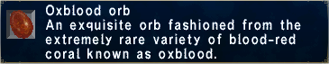 Oxblood Orb