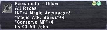 Pemphredo Tathlum