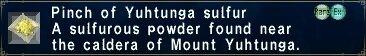 Yuhtunga Sulfur