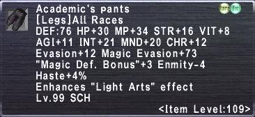 Academic's Pants