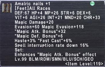 Amalric Nails +1