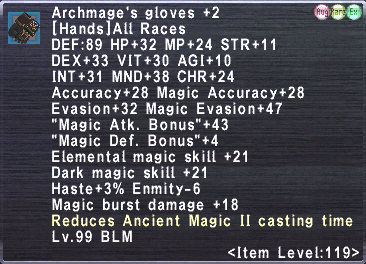 Archmage's Coat +2 Set