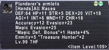 Plunderer's Armlets