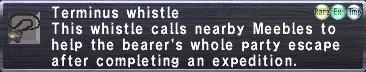 Terminus Whistle