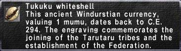 Tukuku Whiteshell