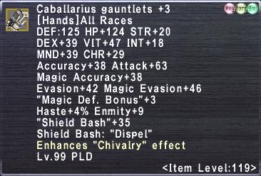 Caballarius Surcoat +3 Set