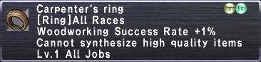 Carpenter's Ring