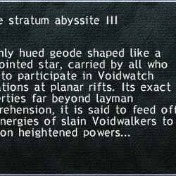 Jade Stratum Abyssite III