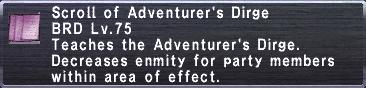 Adventurer's Dirge
