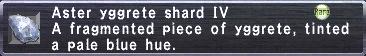 Aster Yggrete Shard IV