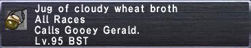 Cloudy Wheat Broth
