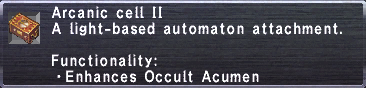 Arcanic Cell II