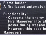 Flame Holder