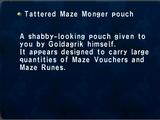 Tattered Maze Monger Pouch
