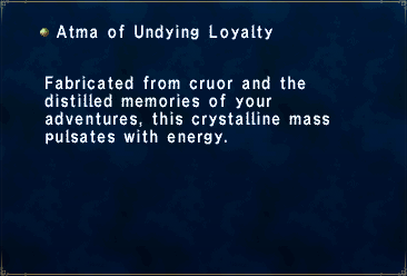Atma of Undying Loyalty