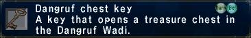 Dangruf Chest Key