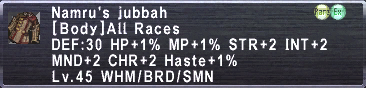 Namru's Jubbah