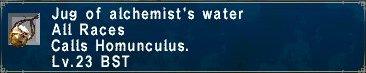 Alchemist Water