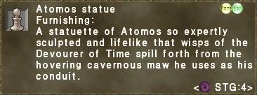 Atomos Statue