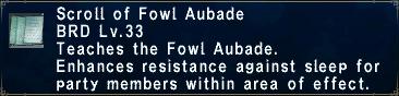 Fowl Aubade
