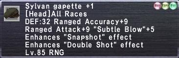 Sylvan Gapette +1