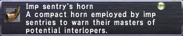 Imp Sentry's Horn
