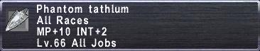 Phantom Tathlum