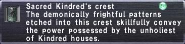 Sacred Kindred's Crest