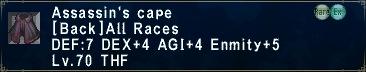 Assassin's Cape