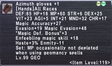 Azimuth Gloves +1