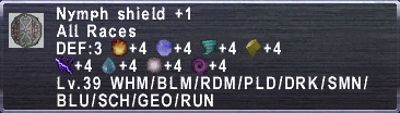 nymph Shield +1