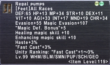 Regal Pumps
