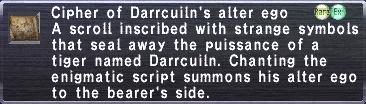 Cipher: Darrcuiln