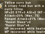 Yellow Curry Bun