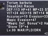 Yorium Barbuta
