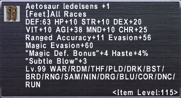 Aetosaur Ledelsens +1