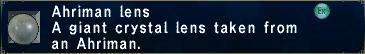 Ahriman Lens