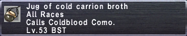 Cold Carrion Broth