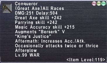 Conqueror (119-2)
