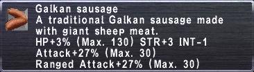 Galkan Sausage